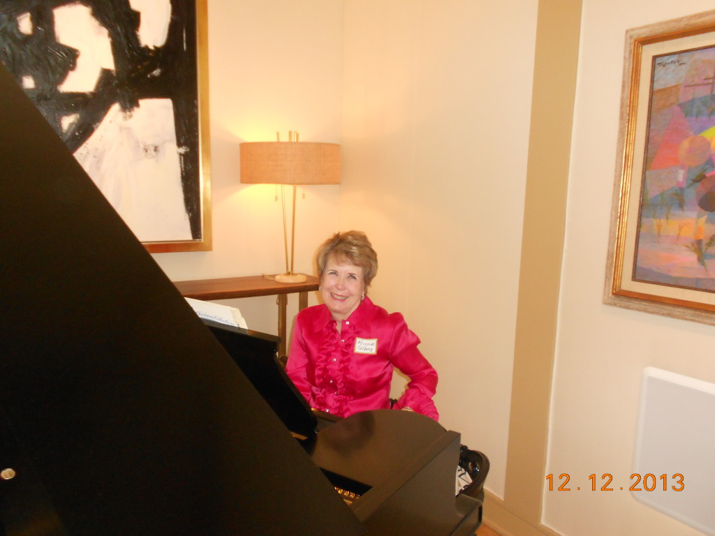 Christine, Our Pianist