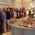 "The ""Mardi Gras"" Progressive Luncheon was a great success"